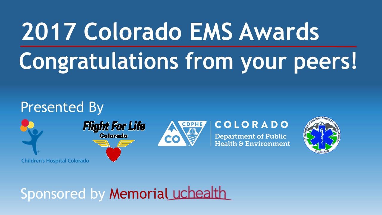2017 Colorado Ems Awards